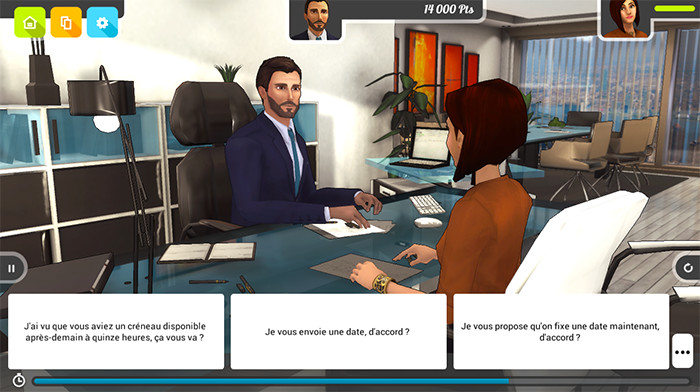 PROFESSIONAL INTERVIEW - screenshot 1