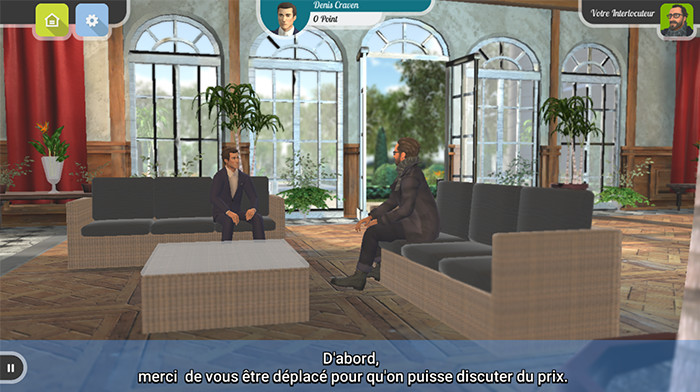 COMMERCIAL NEGOTIATION - screenshot 1