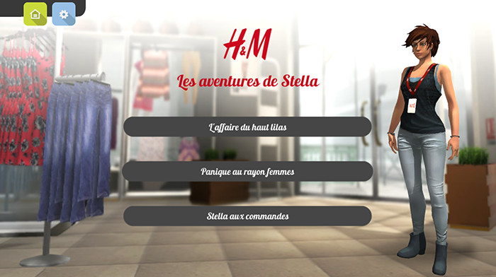 FORMATION SERVICE CLIENT H&M - screenshot 1